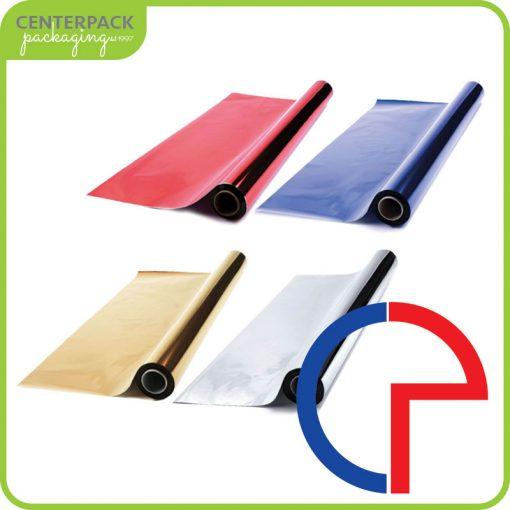 bobine di carta metallizzata