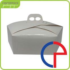 scatola colomba bianca