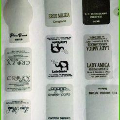 etichette adesive chiudi busta