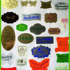 Etichette adesive personalizzate
