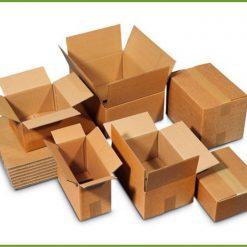 scatole cartone pronte a magazzino