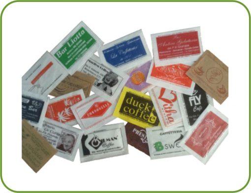 bustine di zucchero personalizzate