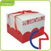 confezione per panettone cornice rossa